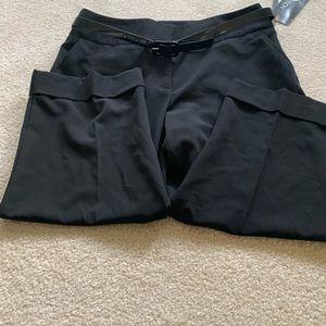 Pants - Black size 10 Capri pants NWT